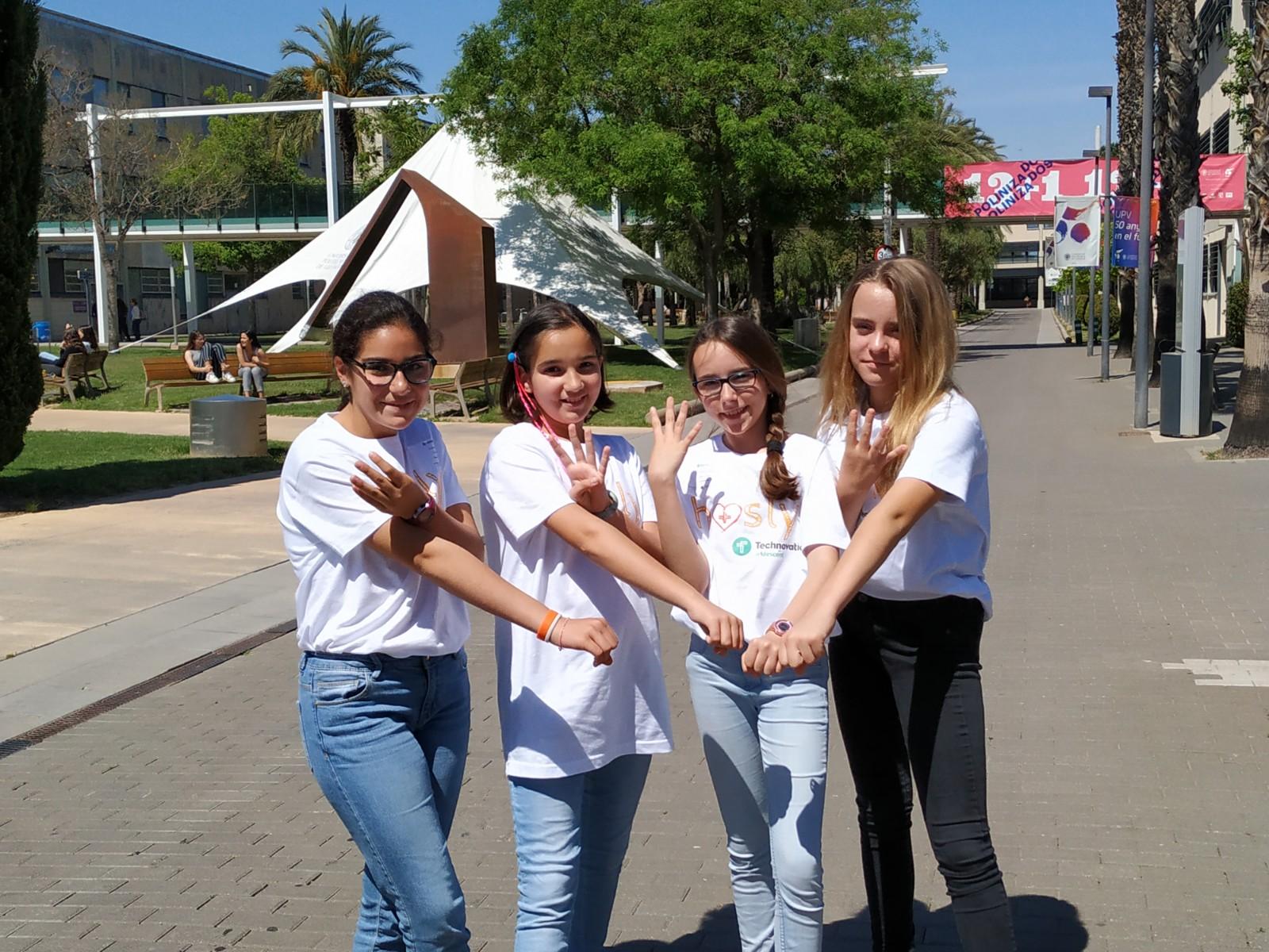 El CIPF apoya el proyecto Hosly, liderado por 4 niñas valencianas